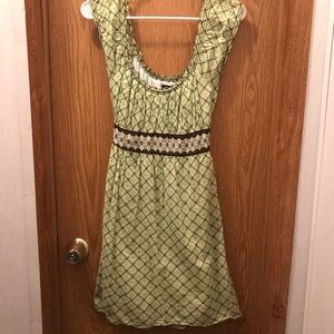 Max Edition green dress - small petite